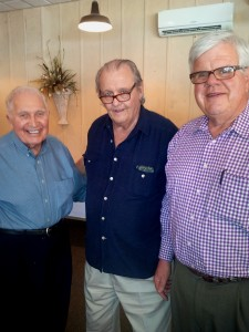 FC with former Sen. Don Kelly (center) and Jack Brittain Sr., both of Natchitoches